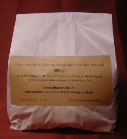 Copeaux de savon brut de marseille l 39 huile d 39 olive champluriel la savonnerie - Copeaux de savon de marseille ...